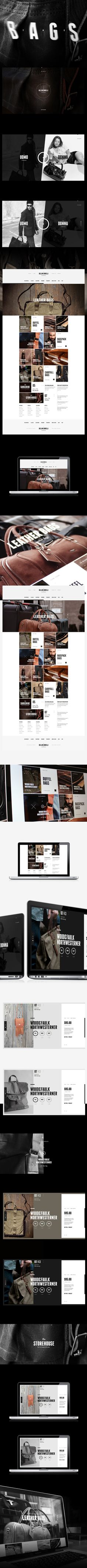 BELLINI BORELLI by Alexey Masalov, via Behance