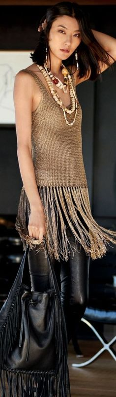 @roressclothes closet ideas women fashion outfit clothing style Ralph Lauren Spring Summer 2016: