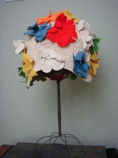 Vintage Swim Cap Swim Cap Flowers made in Poland by retrocorrect, $100.00
