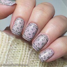 Pink stamping