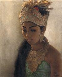 The young princess by Dullah