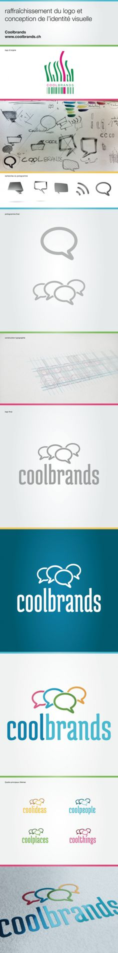 Construction of the new logo of Coolbrands 771deb07bd4