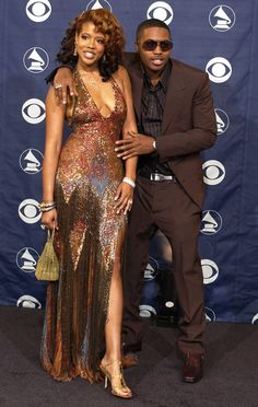 Kelis & Nas from Throwback: Couples at the Grammys   E! Online