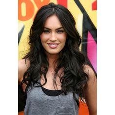 Megan Fox @ megansafox.com | Megan Fox FHM | Megan Fox Transformers |... ❤ liked on Polyvore featuring megan fox, hair, people, backgrounds, cabelos and green hair accessories