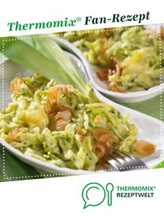 Kässspätzle mit Bärlauch von Thermomix Rezeptentwicklung. Ein Thermomix ® Rezept aus der Kategorie Beilagen auf www.rezeptwelt.de, der Thermomix ® Community.