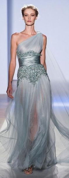 Zuhair Murad - Haute Couture Spring 2013  ღ♥Please feel free to repin ♥ღ www.fashionandclothingblog.com