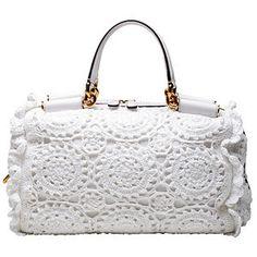 bolsas crochet | Dolce & Gabbana - Bolsas Crochet