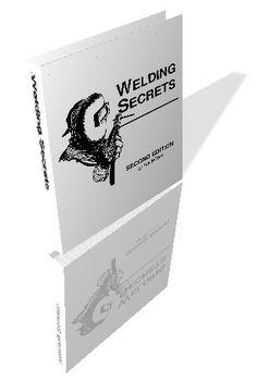 Welding Secrets PDF Book Welding Cast Iron, Welding Aluminum, Metal Welding, Welding Books, Welding Tips, Welding Projects, Shielded Metal Arc Welding, Mechanical Engineering Design, Metal Bender