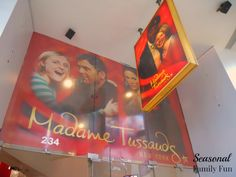 Madame Tussauds in Times Square NYC.