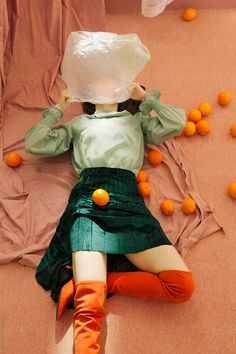 woman with oranges by ulaş kesebir & merve türkan - Stocksy United Artistic Fashion Photography, Creative Photography, Editorial Photography, Portrait Photography, Aesthetic Photography People, Beauty Photography, Portrait Inspiration, Creative Inspiration, Aesthetic Pictures