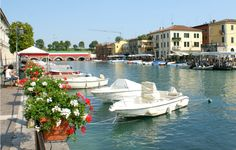 The top 5 towns on the Lake Garda: Peschiera del Garda #Dolomites #italy