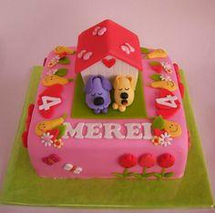 Leuke woezel en pip taart!