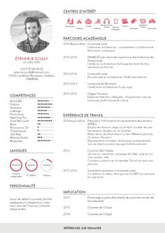 Curriculum Vitae 2016 | Étienne Scully by Étienne Scully - issuu Cv Design, Resume Design, Layout Design, Autocad, Cv Template, Templates, Curriculum Vitae, Modern Resume, Creative Cv Template
