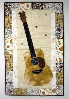 Music quilt idea