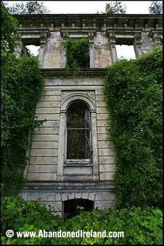 Abandoned & forgotten mansion in Tipperary County, Ireland.