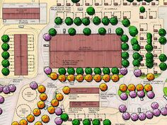 Image result for efficient horse farm layout