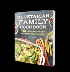 When it comes to eating vegetarian as a family, it can be challenging to please everyone's taste buds and ensure proper nutrition. Whether you're looking for Meatless Monday ideas or you eat a vegetarian diet full time, The Vegetarian Family Cookbook is a vegetarian cookbook filled with 100 delicious, easy, and nutritious recipes even your pickiest eaters will love. #vegetarianrecipes Vegetarian Comfort Food, Vegetarian Meal Prep, Vegetarian Cookbook, Vegetarian Breakfast Recipes, Vegetarian Recipes Dinner, Easy Meals For Kids, Chowder Recipes, Proper Nutrition, Meatless Monday