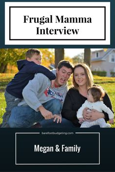 first Frugal Shopper Interviews .... As you can see, and you'll read, ....lives on a pretty tight budget feeding a good sized family and making it work .......