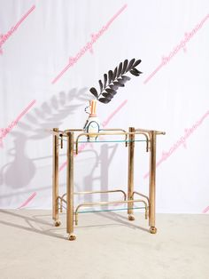 Brass Bar Cart – Coming Soon
