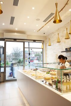 WA Patisserie - Japanese Bakery, Ealing, London designed by SAY Architects Ltd.