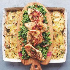 Jamie Oliver's Golden Chicken: Recipes: Food - Red Online