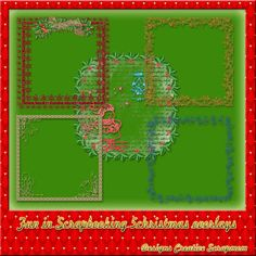 Welkom bij Creative Scrapmom: Fun in scrapbooking 5 christmas overlays