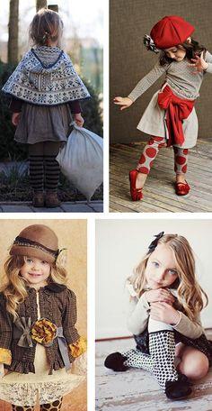 Inspiración moda infantil invierno