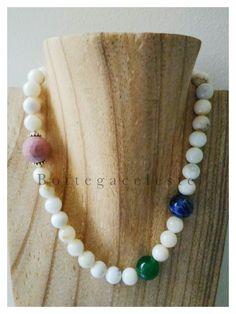 Perle di: Sodalite, Rodonite e Madreperla
