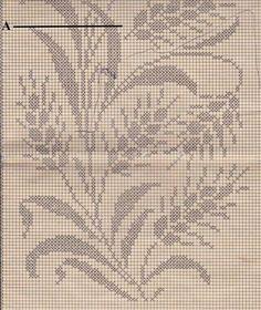 Cross Stitch Art, Cross Stitch Flowers, Modern Cross Stitch, Counted Cross Stitch Patterns, Cross Stitch Designs, Crochet Curtain Pattern, Crochet Table Runner Pattern, Crochet Curtains, Filet Crochet Charts