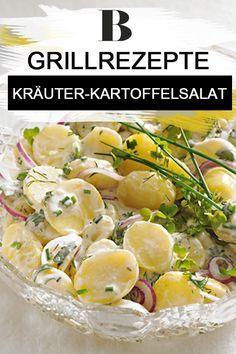 Salate zum Grillen: Die besten Rezepte. Besonders lecker ist dieser Salat mit frischen Kartoffeln und selbst gemachten Sylter Dressing aus Joghurt und Salatcreme mit feinen Kräutern wie Dill und Petersilie. Zum Rezept: Kräuter-Kartoffelsalat.
