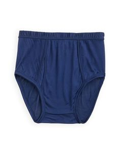 Men's Silk Underwear: Full-cut brief