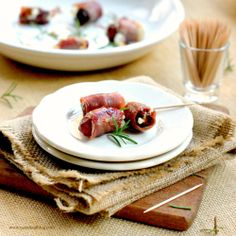 Prosciutto. Dates. Perfect party food.