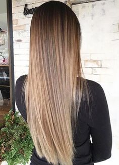 Delicate Two Tone Hair Color Ideas for Brunettes for 2019 : Have a look!, 6 Delicate Two Tone Hair Color Ideas for Brunettes for 2019 : Have a look!, 6 Delicate Two Tone Hair Color Ideas for Brunettes for 2019 : Have a look! Blonde Hair With Highlights, Brown Blonde Hair, Light Brown Hair, Balayage Straight Hair, Brown Highlights, Blonde Balayage, Straight Long Hair, Caramel Balayage, Caramel Highlights
