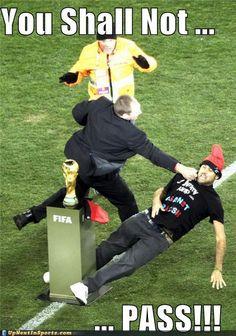 You shall not...Pass!!! #Soccer #CSR #Bizitalk