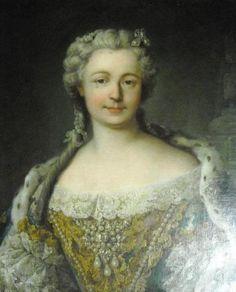 Queen Marie Leszczynska91703-1768), ca. 1730 after Louis Tocqué