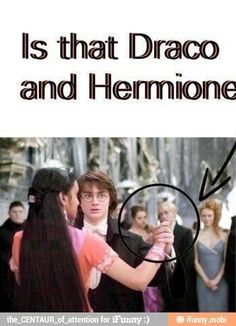 See?  Dramione is kind-of canon.  The ship sails itself.
