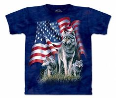 The Mountain - Mens Wolf Flag T-Shirt, Size: 5X-Large, Color: Multi  http://www.amazon.com/gp/product/B00E0U8X8W/ref=as_li_tl?ie=UTF8&camp=1789&creative=390957&creativeASIN=B00E0U8X8W&linkCode=as2&tag=pinterest069-20&linkId=D5L6WLG4ERNACZ7I