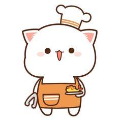 Cute Cartoon Images, Cute Couple Cartoon, Cute Love Cartoons, Cute Bear Drawings, Cute Cartoon Drawings, Cute Love Gif, Cute Love Pictures, Cute Kawaii Animals, Kawaii Cat