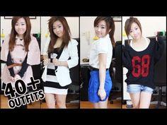 40 Outfits in 3 minutes. T.O.T.A.L D.R.E.A.M C.L.O.S.E.T. O_O
