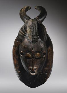 African Masks, African Art, Art Graphique, Ocean Art, Ivory Coast, Ivoire, Tribal Art, Sculpture, Ancient Art