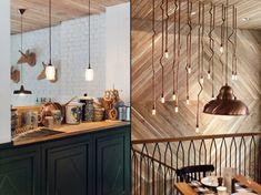 retail design modern vintage whitewash herringbone - Google Search