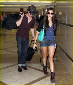nina dobrev at the airport | Windsor: On Trend Tuesday: Nina Dobrev Rocks the Airport