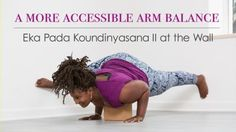 Let's explore more accessible variations of this challenging arm balance.