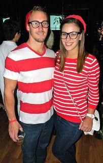 Whereu0027s Waldo u0026 Wenda? Homemade Halloween Costume with the boyfriend.  sc 1 st  Pinterest & Wayne u0026 Garth - Wayneu0027s World Halloween costume for kids - Amanda ...