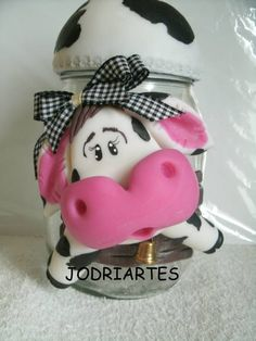 *BISCUIT ~ Pot cow biscuit | Atelier Jodriartes in biscuit