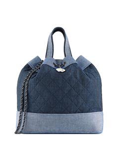 CHANEL Denim 2way Bag