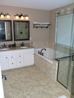 Like This Much Better With The Diagonal Tile Above Linear - Updike bathroom remodeling