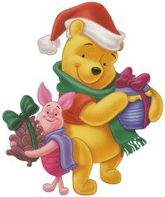 Christmas Disney Winnie the Pooh Winnie The Pooh Pictures, Winnie The Pooh Quotes, Disney Winnie The Pooh, Christmas Yard Art, Noel Christmas, Disney Christmas, Christmas Cartoons, Christmas Clipart, Eeyore