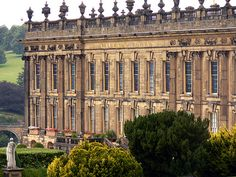 Pemberley, Mr Darcy's home - Chatsworth House, Derbyshire, England