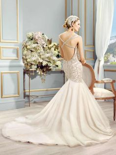 Val Stefani Wedding Dresses 2015 Fall - MODwedding